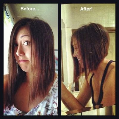 inverted bob vs a line bob inverted a line bob by kim lynn yelp