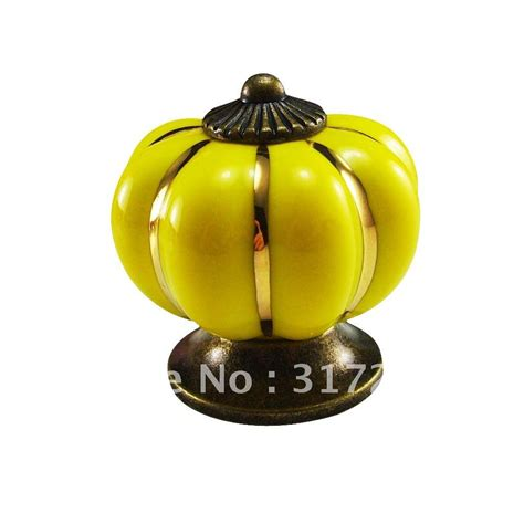 Discount Knobs Pumpkin Knobs Furniture Hardware Handles Knobs Ceramic