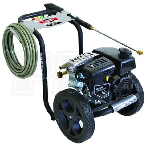 simpson ms  megashot  psi gas cold water pressure washer  kohler engine