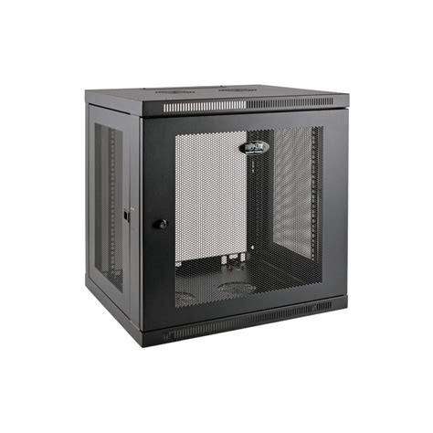 tripp lite wall mount rack enclosure server cabinet tripp lite 12u smartrack low profile wall mount rack
