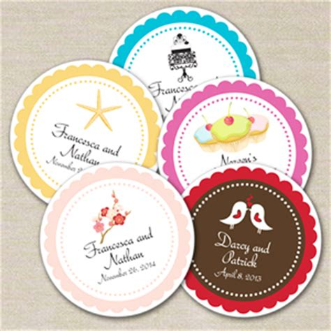 Stiker Label Makanan Produk 1 modern personalized medium labels 24 pcs shaped personalized hang tags and