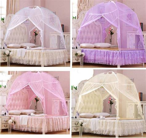 twin bed tent canopy hight qc bed canopy mosquito net tent for twin queen small king bed size in mosquito net from