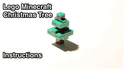 lego minecraft christmas tree instructions youtube