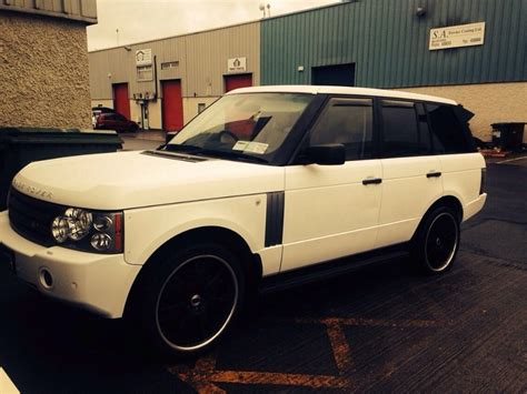 matte orange range rover range rover vogue matte white