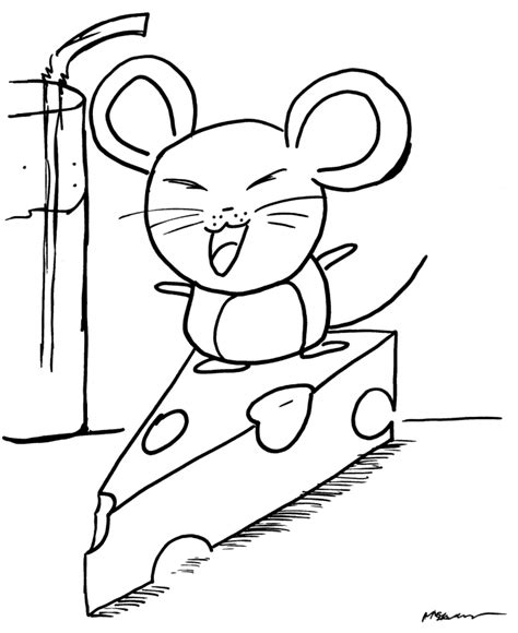 free coloring pages of cheese
