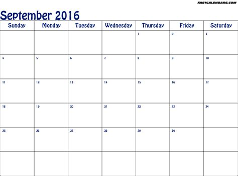 Blank Printable Calendars Blank Year Calendars 2016 Printable Calendar Template 2016