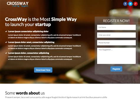 Top 20 Of The Best Landing Pages For Lead Generation Lead Landing Page Template