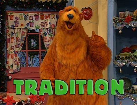 bear inthe big blue house a berry bear christmas a berry bear christmas part 2 the big blue house wiki fandom powered by wikia
