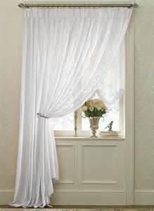 White Pinch Pleat Curtains White Splendor Batiste Pinch Pleated Drape Pair