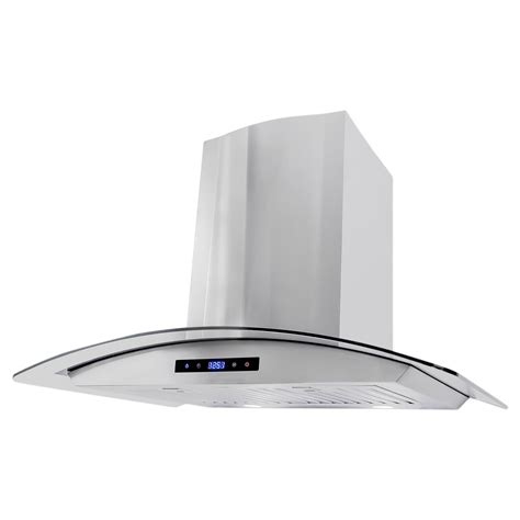 30 in. Wall Mount Range Hood with Touch Controls Cosmo