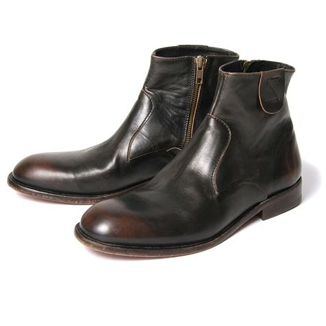 mens ankle boots h by hudson boots haxton black leather mens ankle boot ebay