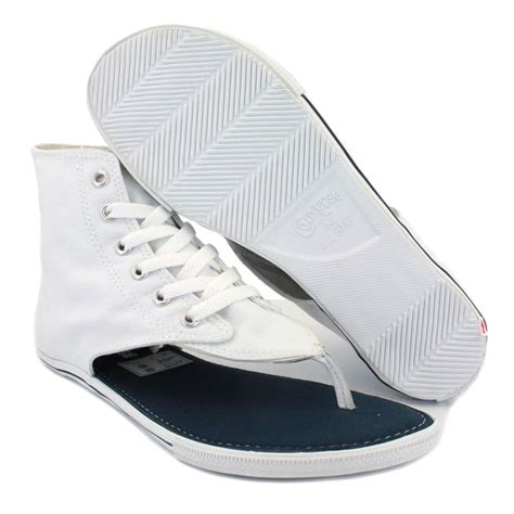 sandals converse new converse all hi top white sandals flip