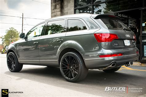 Audi Q7 Rims by Q7 Savini Wheels