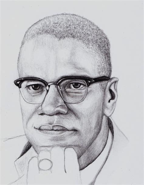 Drawing X On by Malcolm X By Minakowolf37 On Deviantart