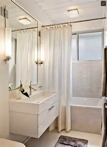 clear wall mirror ceiling lamp bath tub with curtain