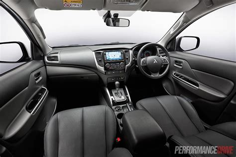 mitsubishi triton 2012 interior 2016 mitsubishi triton review australian launch