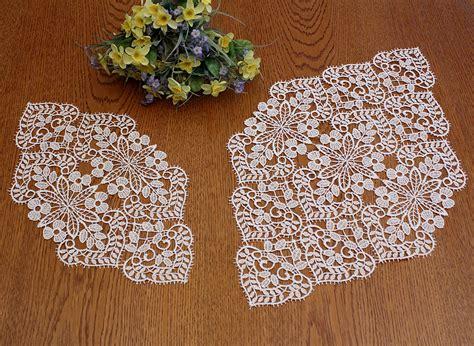 Macrame Crochet Lace - macrame lace doily