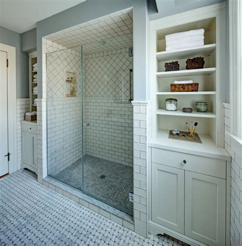 Classic White Bathroom Design And Ideas Classic White Master Bath Traditional Bathroom Newark By Tracey Stephens Interior Design Inc