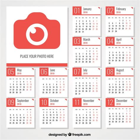 Calendario 2018 Editable Descarga 10 Calendarios 2018 2019 Gratis Editables Para