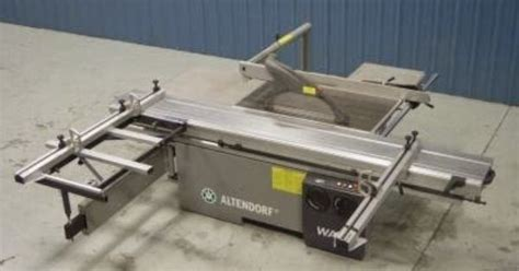 used router table for sale used altendorf model wa8 sliding table saw for sale at