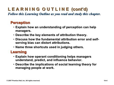 Outline Two Errors In Attribution by Chapter 14 Managers And Communication Ppt14