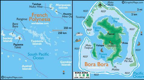 bora bora bora bora map