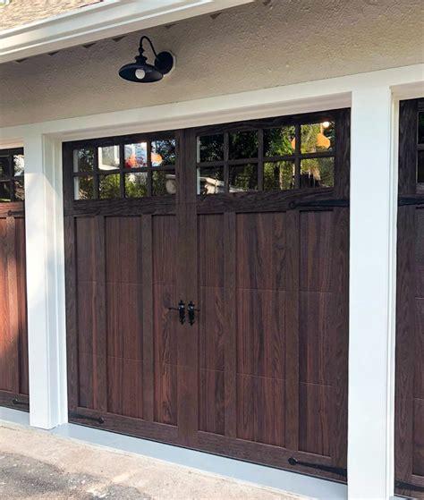 chi shoreline wood tone overlay carriage house garage