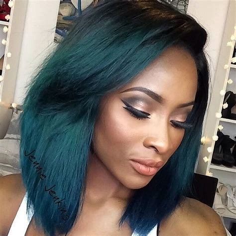 black colored hair 2018 hair color trends for black american
