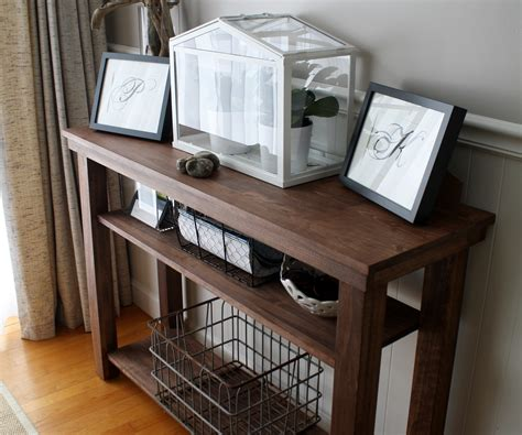 build  dining room console table side  serving table