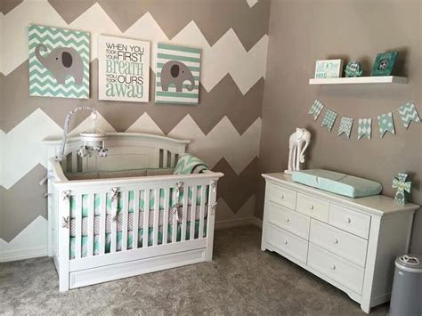 Chevron Nursery Decor Adorable Nursery Idea Nursery Nursery Babies And Room