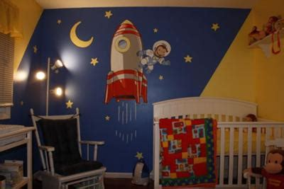 Curious George Nursery Decor Curious George The Astronaut Nursery Theme