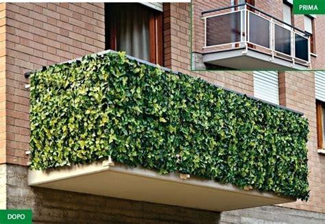 siepi per terrazzi 187 siepe artificiale per balconi