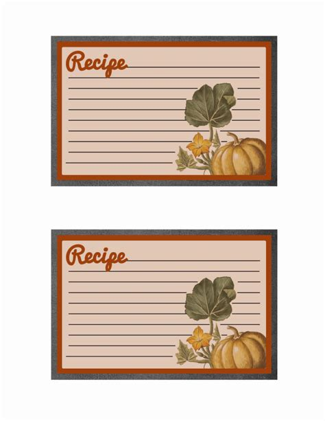 free printable thanksgiving recipe cards printable thanksgiving meal planner and recipe cards mom