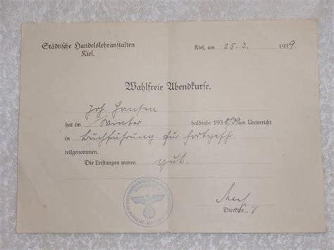 len kiel question st 228 dliche handelslehranftalen kiel 1939