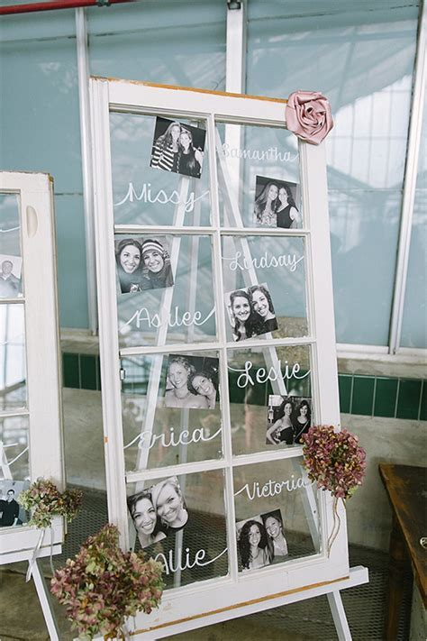 26 Creative DIY Photo Display Wedding Decor Ideas   Tulle