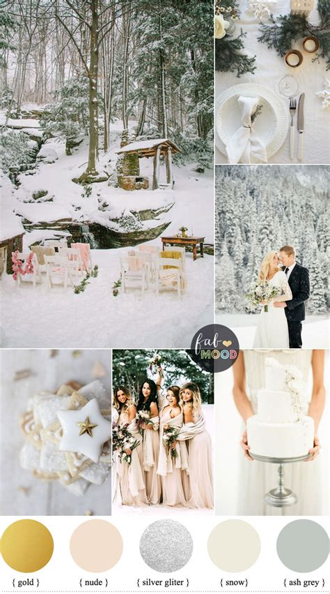 magical winter wedding theme wedding in snow snow wedding theme