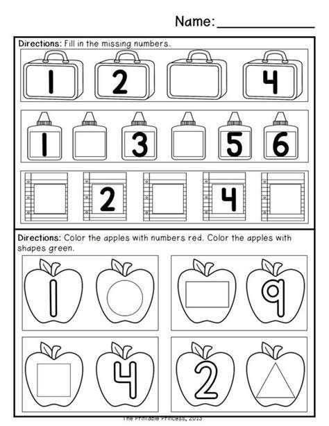 kindergarten activities september kindergarten morning work september math activities