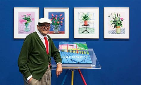 david hockney a bigger picture book david hockney releases a monumental quot visual autobiography