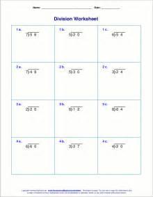 long division worksheets for grades 4 6