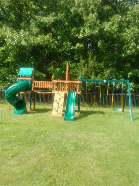 Backyard Discovery Windale 17 Best Images About Swingset Installer On
