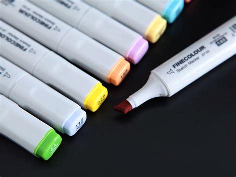 Finecolour Sketch Marker Ef 100 Limited finecolour ef100 sketch marker pen based ink graphic soft brush dual tip ebay