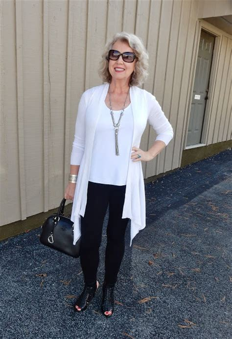 put together wardrobe for women over 50 fifty not frumpy leggings are not pants