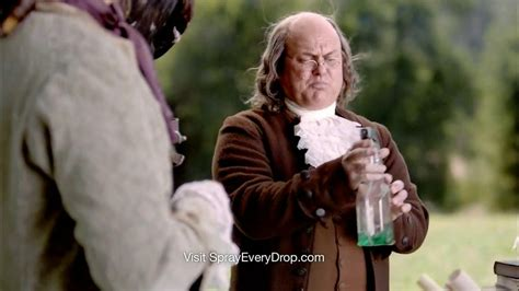clorox smart tube tv commercial benjamin franklin ispottv