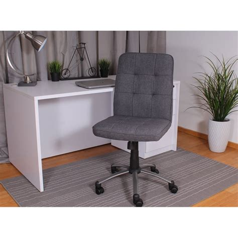 Pretty Desk Chairs by Pretty Parsons Modern Armless Office Chair In Slate