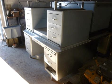 Vintage Metal Desk For Sale by Vintage Steel Desks For Sale