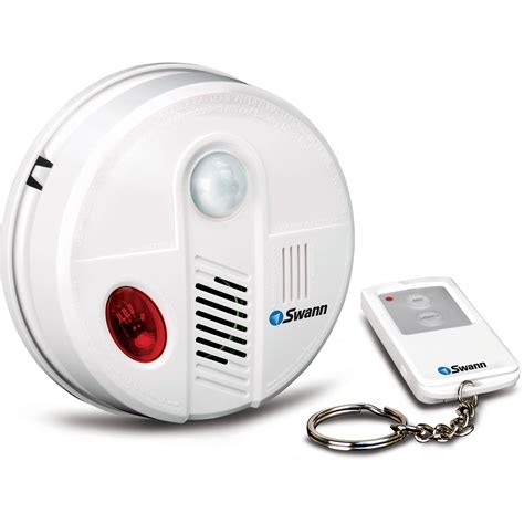 ceiling motion detector swann ceiling alarm motion detector with remote