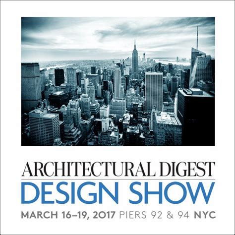 home design show pier 92 architectural digest design show march 2017