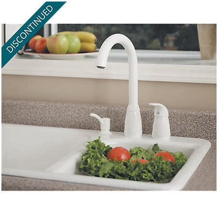 stainless steel contempra 1 handle kitchen faucet 526 white contempra 1 handle kitchen faucet 526 50ww