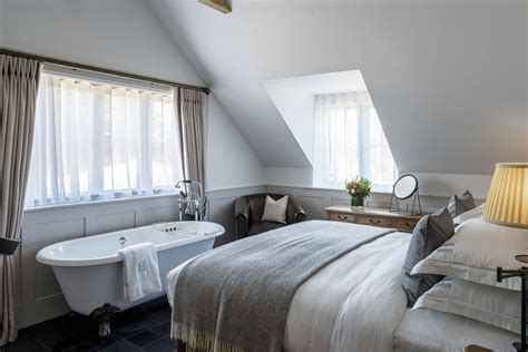 bath in bedroom hotel country escape hurley house berkshire what s on by