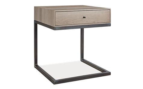 Ideas For Metal Nightstand Design Astounding Modern Nightstands Design Comes With Square Shape Wooden Metal Nightstand And